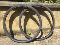 Specialized Numbus Armadillo tyres 700x38 front and rear with tubes