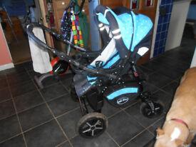 Baby Merc S7 All Terrain Pushchair Stroller