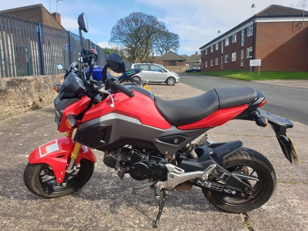 Honda Grom MXS 125 2016 €2000 | in Stoke-on-Trent, Staffordshire | Gumtree