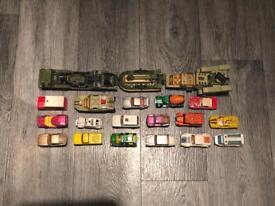 Matchbox Corgi and Majorette vehicles