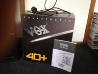 Vox Valvetronix 40+ guitar amplifier and amp stand