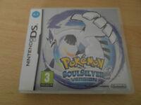 Pokemon Soul Silver Ninentdo DS
