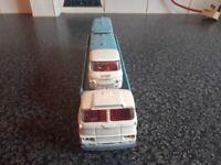 Co-op truck van and milk van