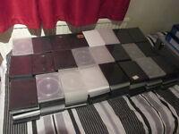 240 empty DVD cases