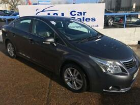 TOYOTA AVENSIS 2.2 T4 D-4D 4d 148 BHP A GREAT EXAMPLE INSIDE AND OUT (grey) 2009