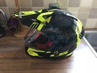 Brand new racing helmet