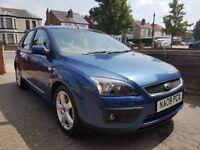 2008 Ford Focus Zetec Climate,1.6L,Petrol,5dr,Hatchback,Manual,Blue,MOT Until 1Febraury2019, £1430.