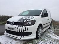 2011 VW caddy van £5950 REAL HEAD TURNER STUNNING VAN