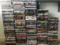 Collection of over 1000 DVD's and Blu-ray's