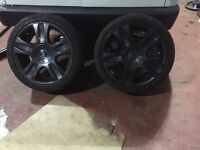 Ford Focus mondeo connect 18inch alloy wheels x4
