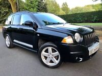 JEEP COMPASS 2.0 CRD LIMITED STATION WAGON 4x4 • FULL LEATHER• HEATED SEATS•S/HISTORY..jeep patriot