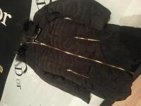 BRAND NEW BLACK COAT SIZE 10