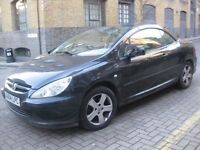 PEUGEOT 307 AUTOMATIC HARD TOP CONVERTIBLE CABRIOLET @@@ £750 ONLY @@@ 3 DOOR COUPE