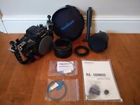 Underwater Camera Housing - Nauticam Canon 5D MarkIII with 8.5 Acrylic Dome Port + FREE PELI