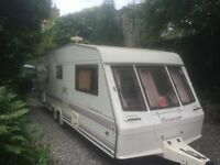 5 berth twin axel Coachman end bathroom1999 modle no damp full awning 2x keys loads of paperwork