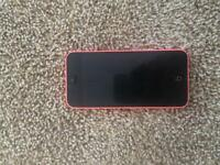 Pink iPhone 5c for sale