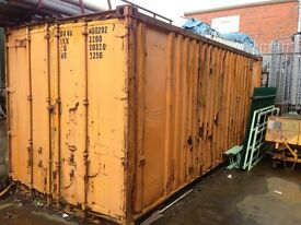 20ft x 8ft Container Storage Horse Box Shed Garage FREE to good home we will load your trailer foc