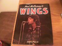 Paul McCartney & Wings Book,