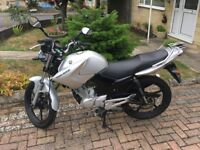 Yamaha YBR125, 2012, low mileage excellent condition