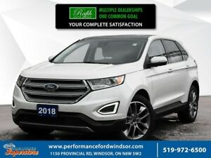 2018 Ford Edge ***Low km's and loaded recent arrival with 3.5 L