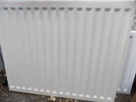 Double convector radiator, length 85cm, height 69cm