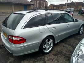 2006 Mercedes E280CDI Avantgarde 7 seats