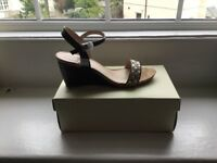 Brand new boxed size 8 sandal