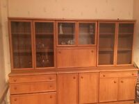 Large display unit & bookcase