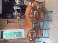 Jamco Solid Oak Kitchen Table $475