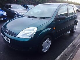 FORD FIESTA 1.3, MOT NOVEMBER 2017, LONG MOT