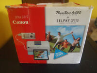 Canon Powershot A420 Camera + Printer