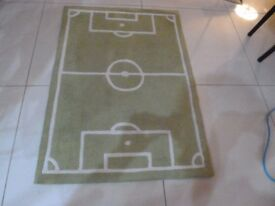 Next Football Pitch Rug.