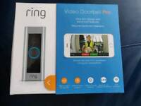 Ring Video Doorbell Pro - Kit with Chime and Transformer. 1080P