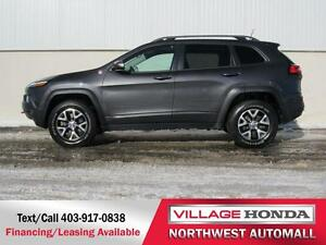 2016 Jeep Cherokee Trailhawk 4x4 | One Owner |