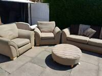 3+1+1 dfs suite free delivery local Leicester good condition