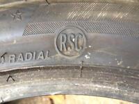 255 40 R17 Runflat Potenza