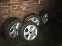 Ford Alloy Wheels Good condition