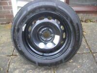 Citroen spare wheel