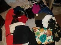 Ladies size 10-12 clothes bundle