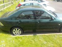 lexus is 200 very good condition for year all electrics 1 yrs m.o.t. just had cambelt done