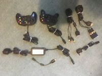 Xbox bundle, two controllers (Venom and Logic 3) and various cables 'not tested'