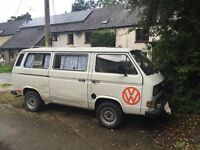 VW T25 for immediate use or project