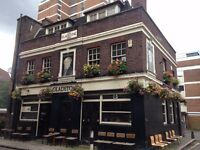 Chef and Kitchen Assistant - The Glad pub - Borough - *new opening*