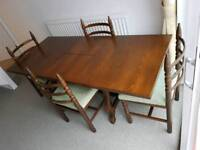 Younger Toledo extending table and six chairs
