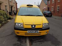 peugeot yallow taxi