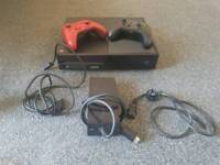 Xbox One 1TB and two controllers
