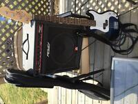 Peavey bass amp and Bass