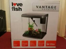 Brand New Love Fish Vantage Aquarium
