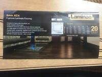 Laminate floor (Sherwood Oak) and underlay
