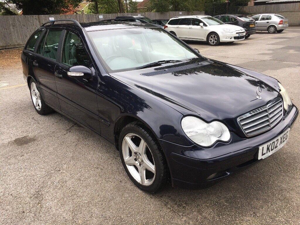 Mercedes C class estate 2L